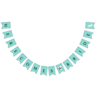 Tiffany aquamarines Blau hier kommt die Wimpelketten