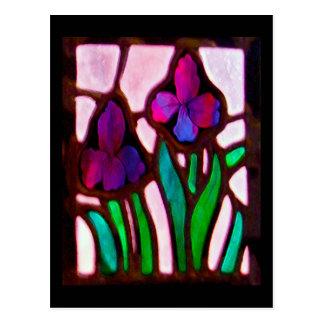 Tiffany Blumengeschenke/-grüße Postkarte