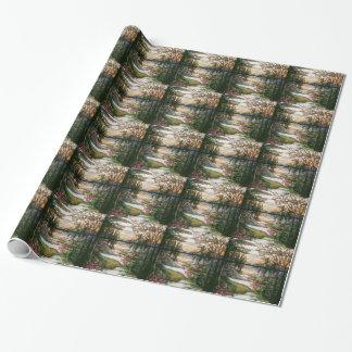 Tiffany-Buntglas-Packpapier Geschenkpapier
