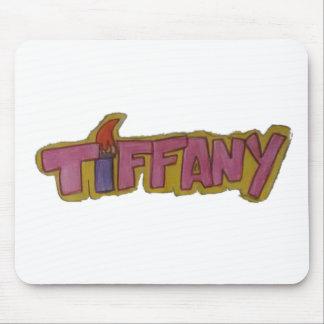 TIFFANYnamenslogo Mousepad