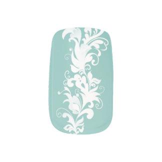 Tiffanys farbige Entwürfe Minx Nagelkunst