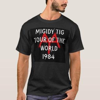 TIG, MIGIDY TIGTOUR DER WELT, 1984 T-Shirt