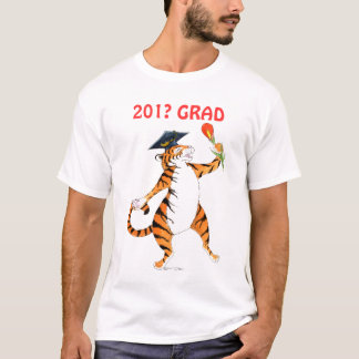 Tiger 201? Absolvent-T - Shirt