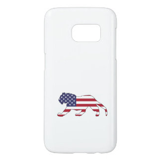 """Tiger """"amerikanische Flagge """""""