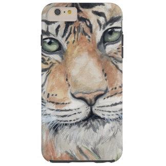 Tiger-Anstarren Tough iPhone 6 Plus Hülle