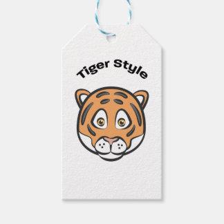 Tiger-Art Geschenkanhänger