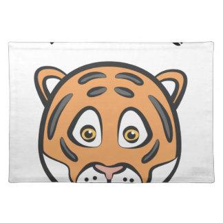 Tiger-Art Tischset