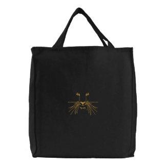 Tiger-Augen Bestickte Tasche