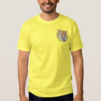 Tiger Besticktes T-Shirt