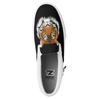Tiger 🐯 Bild, Turnschuh Slip-On Sneaker