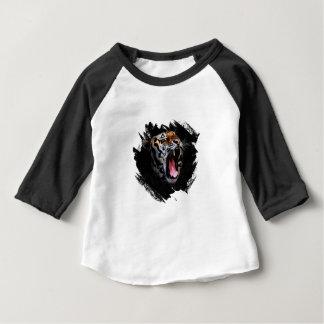 Tiger-Brüllen Baby T-shirt