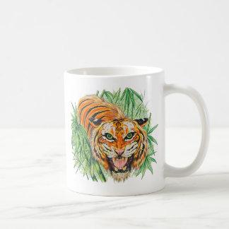 Tiger-Brüllen Kaffeetasse