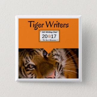 Tiger-Buttone Quadratischer Button 5,1 Cm