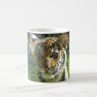 Tiger-CUB-Porträt 3 Tasse