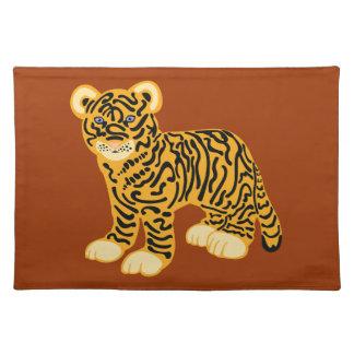 Tiger CUB Stofftischset