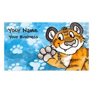 Tiger-CUB-Visitenkarte