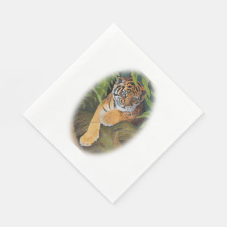 Tiger-CUBpapierservietten Papierservietten