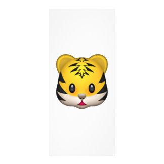 Tiger - Emoji Werbekarte