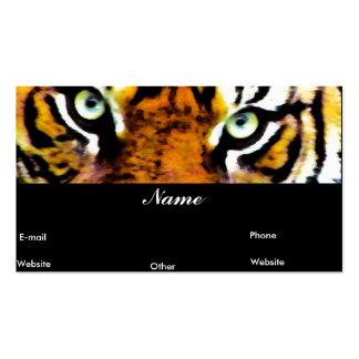 Tiger Eyes_ Visitenkarten