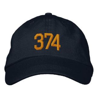 Tiger-Farben des Satz-374 stickten Hut