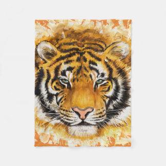 Tiger Fleecedecke