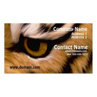 Tiger-Foto-Geschäfts-Karte