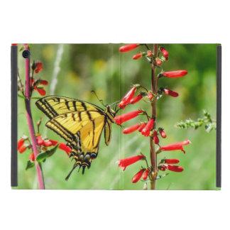 Tiger-Frack-Schmetterling und Wildblumen Etui Fürs iPad Mini