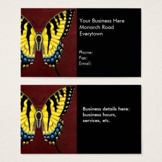 Tiger-Frack-Schmetterling Visitenkarte