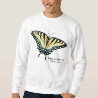Tiger-Frack-Schmetterlings-Sweatshirt Sweatshirt