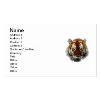 Tiger-Fraktal Visitenkarten