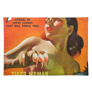Tiger-Frau Tischset