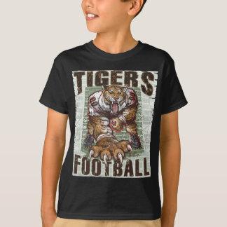 Tiger-Fußball-Felsen durch Mudge Studios T-Shirt