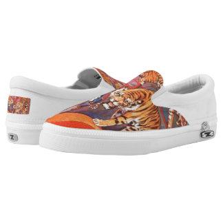 Tiger-Füße! Slip-On Sneaker