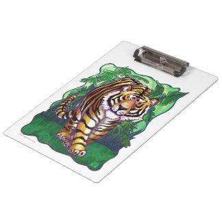Tiger-Geschenke u. Zusätze Klemmbrett