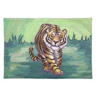 Tiger-Geschenke u. Zusätze Tischset