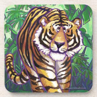 Tiger-Geschenke u. Zusätze Untersetzer
