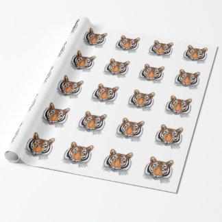Tiger Geschenkpapier