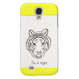 Tiger-Gesicht Galaxy S4 Hülle