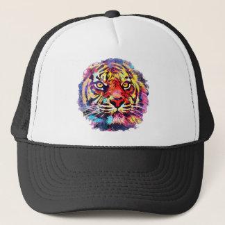 Tiger-Gesicht Truckerkappe