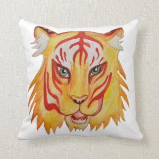 Tiger-Gesichts-Kunst-Kissen Kissen