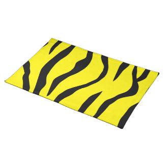 Tiger-gestreift Stofftischset