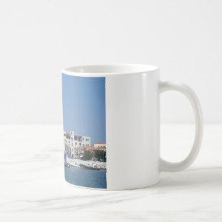Tiger-gestreifte Yacht Kaffeetasse