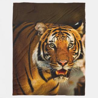Tiger-große Fleece-Decke Fleecedecke
