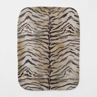 Tiger-Haut-Druck im natürlichen Elfenbein Spucktuch
