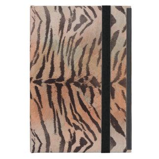 Tiger-Haut-Druck in der Mandarine-Aprikose Hülle Fürs iPad Mini