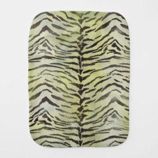 Tiger-Haut-Druck in Limonem Spucktuch