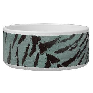 Tiger-Haut-Druck Jade in der mit Pfefferminzaroma Napf