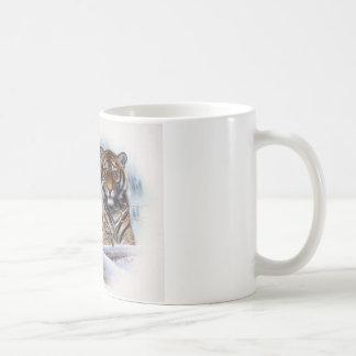 Tiger im Nebel Kaffeetasse