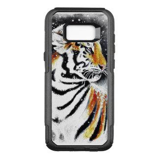 Tiger im Schnee noir OtterBox Commuter Samsung Galaxy S8+ Hülle