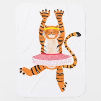 Tiger in einem Ballettröckchen Puckdecke